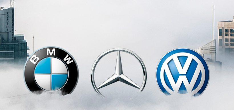 Daimler, BMW y Grupo Volkswagen acusados por coludirese en emisiones