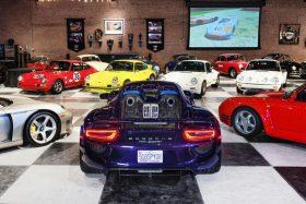 Colección de Porsche incendio