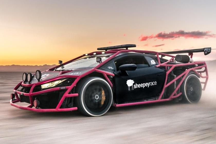 Este Lamborghini Huracan Fue Modificado Para Correr En Rally