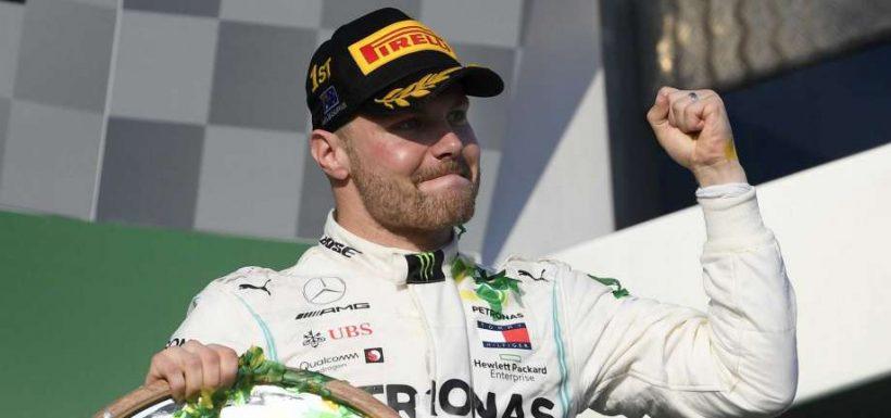 Bottas se quedó con la pole position del GP de China