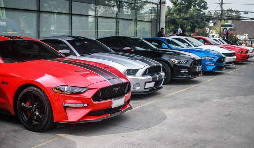 El Club Mustang Chile celebró sus 3 años
