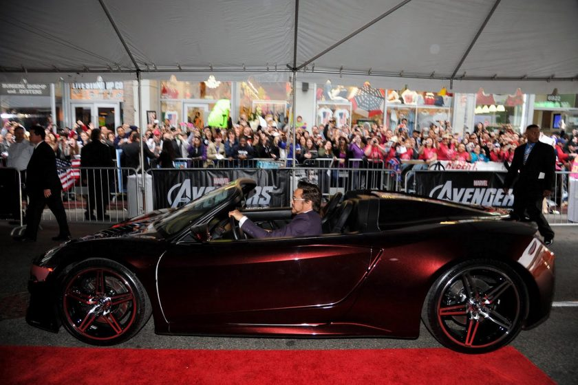 Acura NSX Spyder Concept Avengers