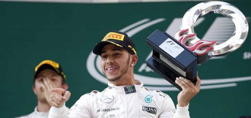 Hamilton ganó el GP de China y la carrera N° 1000 de la F1