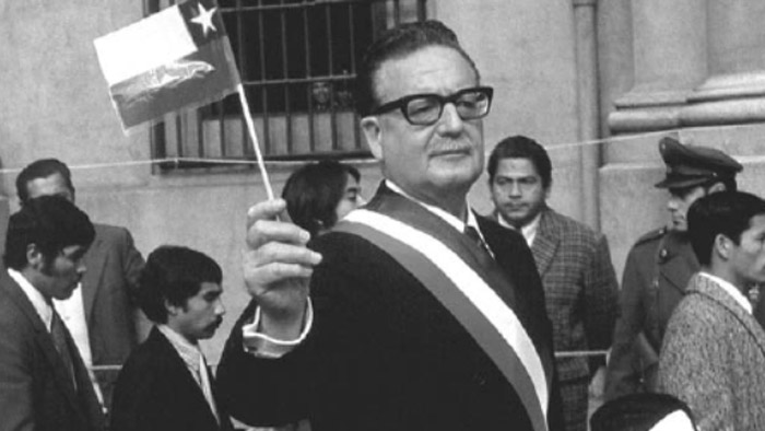 Australia ayudó a la caída de Salvador Allende.