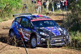 Pedro Heller ganó la primera etapa del Rally Mobil 2019