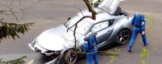 2020 Toyota Supra accidente