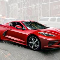 Render Corvette C8