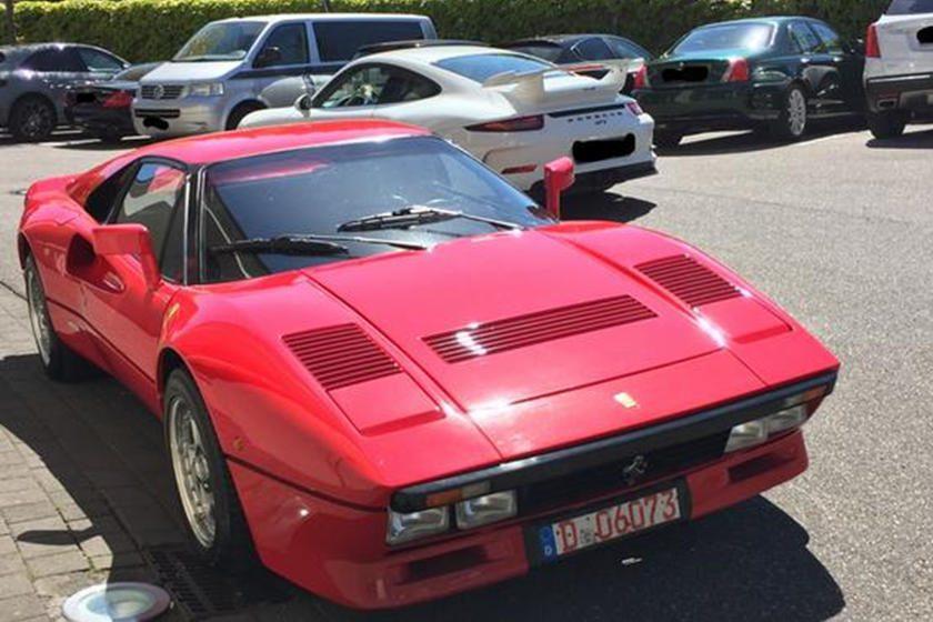 Ferrari 288 GTO de 2.2 millones de dólares robada en Alemania