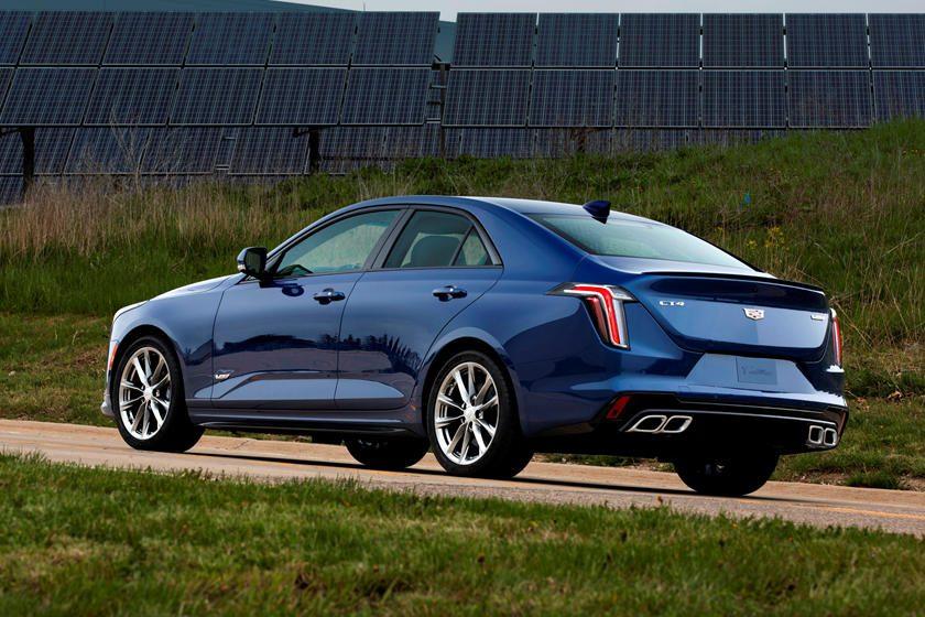 Cadillac CT4-V rear