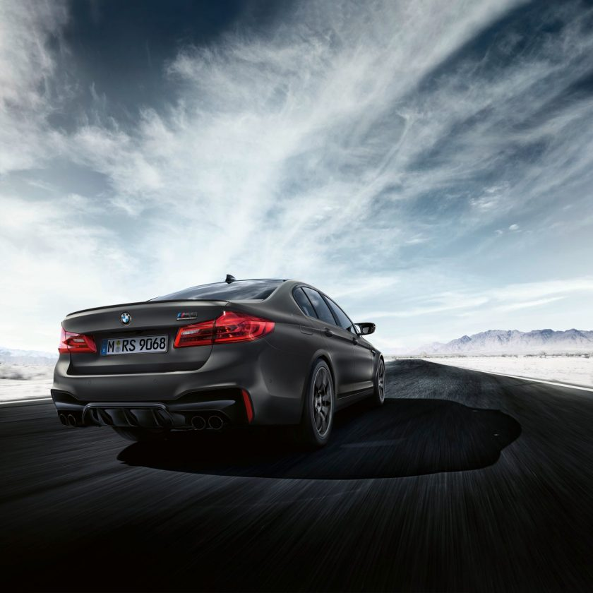 BMW M5 35 Years Edition back