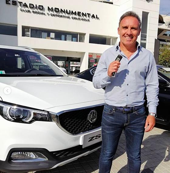 Marcelo Espina auto nuevo