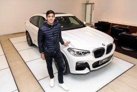 BMW Chile le prestó a Garin un X4