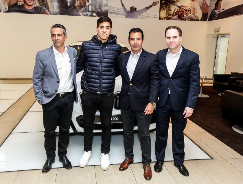 BMW Chile Cristian Garin