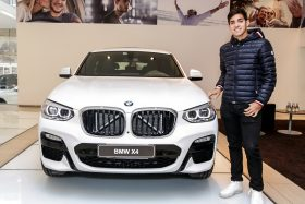 Cristian Garin BMW X4
