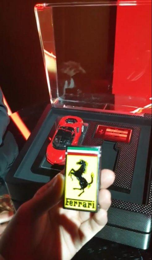Ferrari SF90 Stradale key
