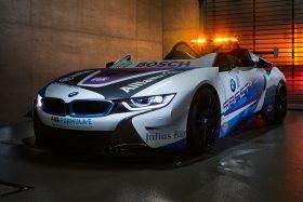 BMW i8 Roadster safety car Formula e