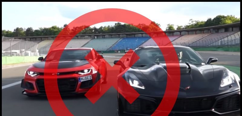 Europa prohibió la venta de nuevos Camaro y Corvette