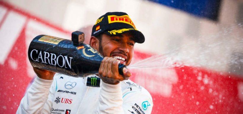 Lewis Hamilton ganó el GP de España