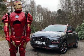 Iron Man colaboró con Hyundai para crear el Kona Iron Man Edition