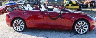 Tesla Model 3 crash Florida
