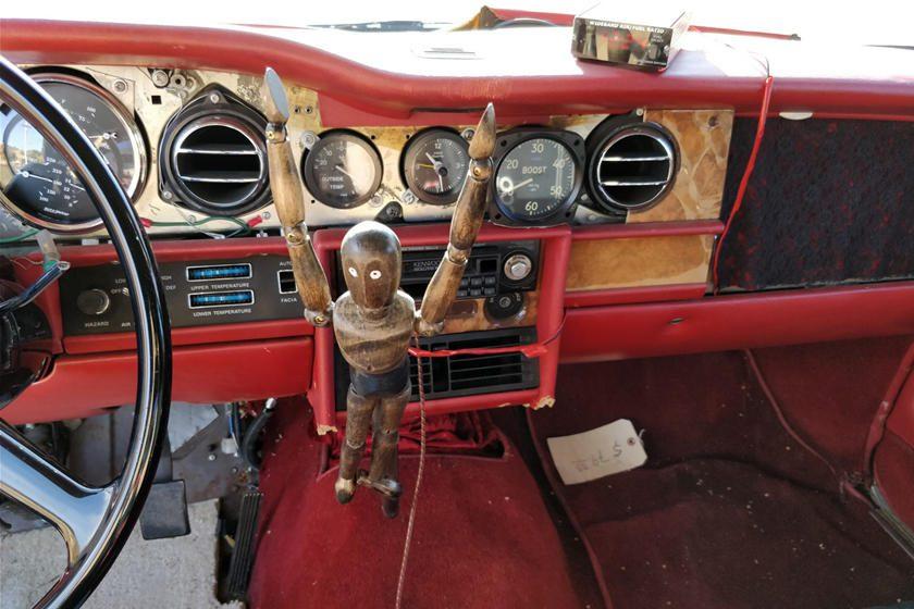 Trolls-Royce interior