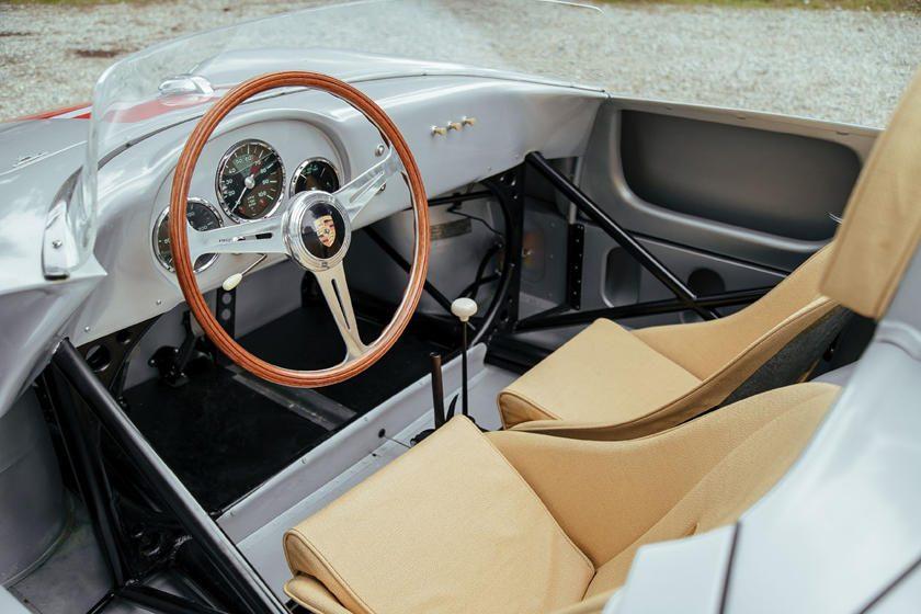 Interior Porsche 550A Spyder