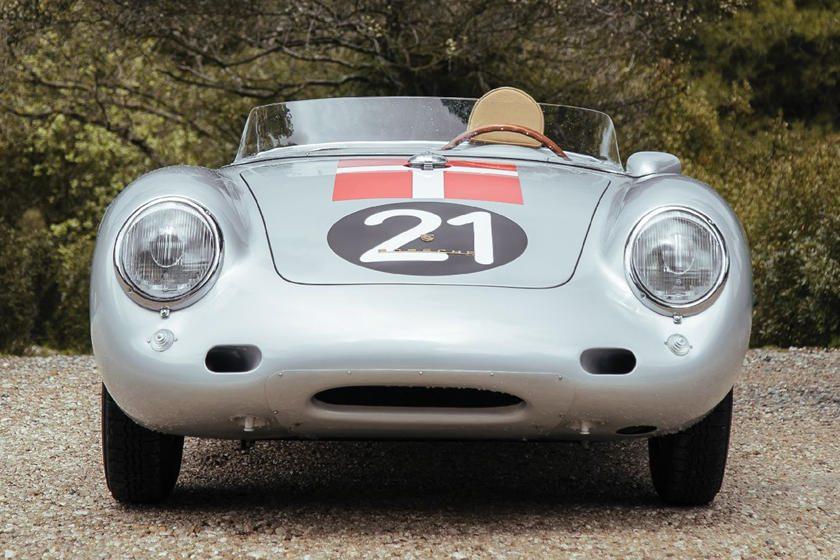 Porsche 550A Spyder front