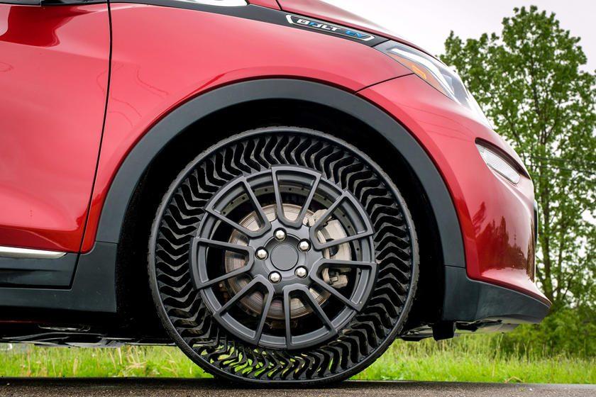 Neumáticos que no se pinchan