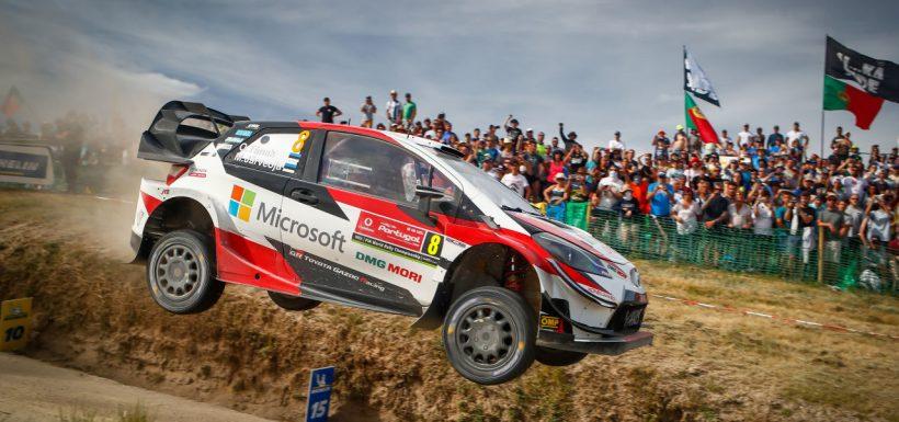 Ott Tänak WRC Portugal