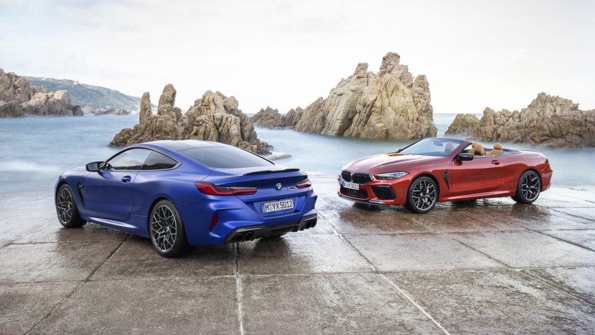 2020 BMW M8 and M8 Competition