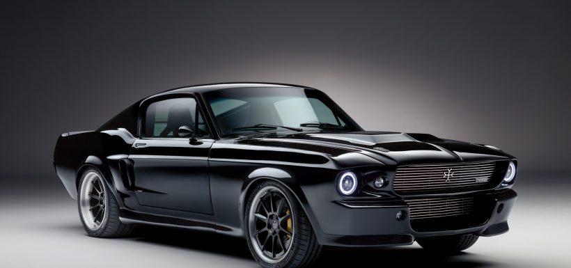 Mustang eléctrico frente