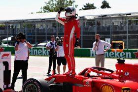 Vettel pole position GP Canada