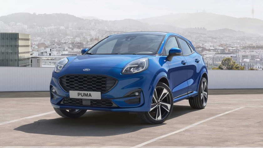 New Ford Puma front