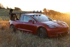 Camioneta Tesla