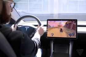 Ahora puedes jugar juegos en tu Tesla