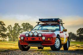 Porsche 924S rally
