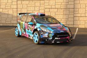 Ford Fiesta ST rally replica