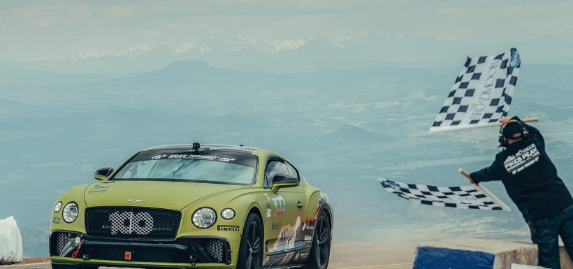 Continental GT Pikes Peak record
