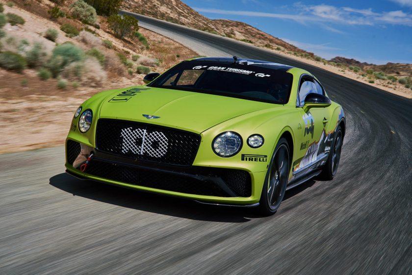 Bentley Continental GT record