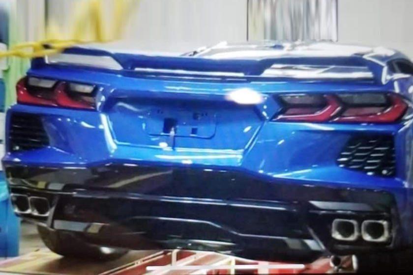 Corvette C8 filtrado