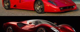 De Tomaso P72 Ferrari P3/4