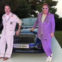 Elton John Bentley Flying Spur