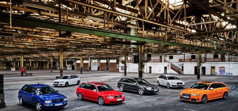 Audi RS 25 años