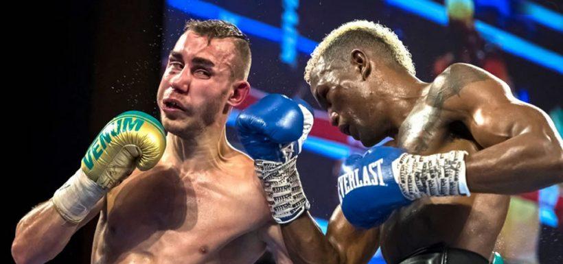 Boxeador ruso Maxim Dadashev
