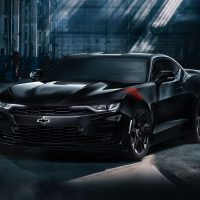 Camaro black edition