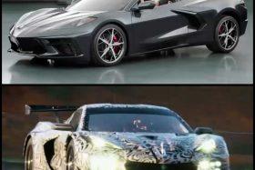 Chevrolet confirmó Corvette C8 descapotable y C8.R de carreras