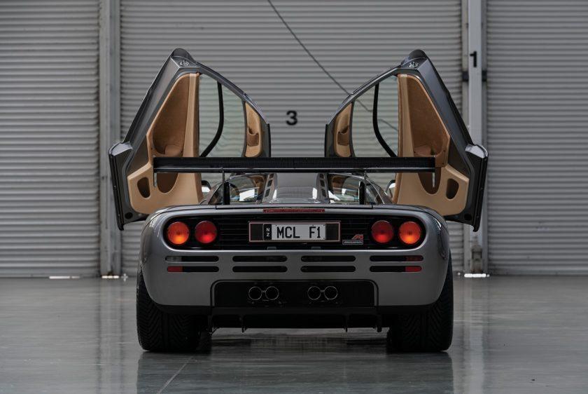 McLaren F1 LM-Specification back