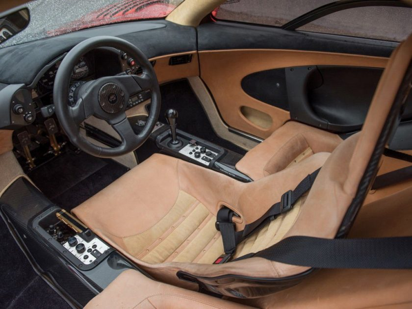 McLaren F1 LM-Specification interior