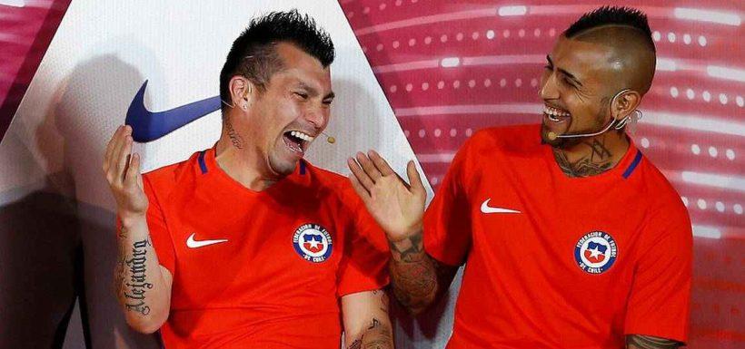 Arturo Vidal y Gary Medel