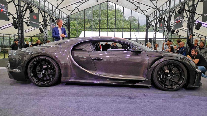 Bugatti Chiron Super Sport 300+ side